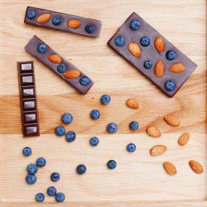 tablettes aux bleuets