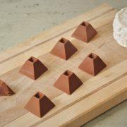 pyramide chocolat chevre miel