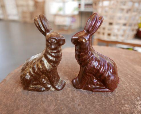 lapins chocolat