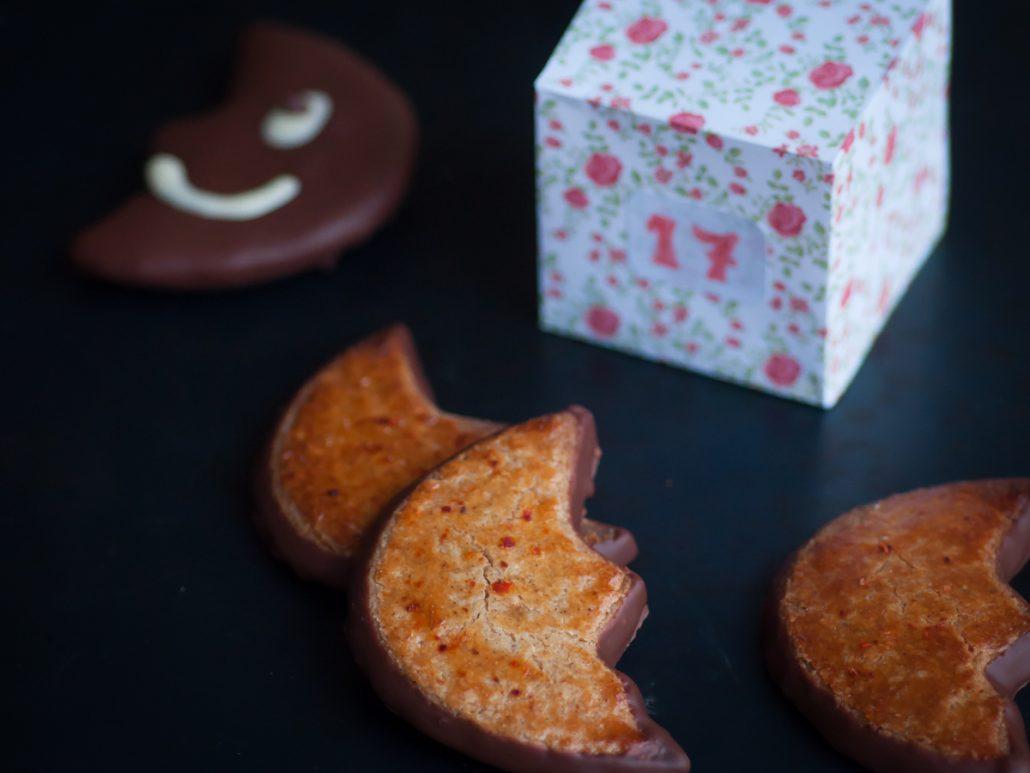 biscuit chocolat et piment d'espelette