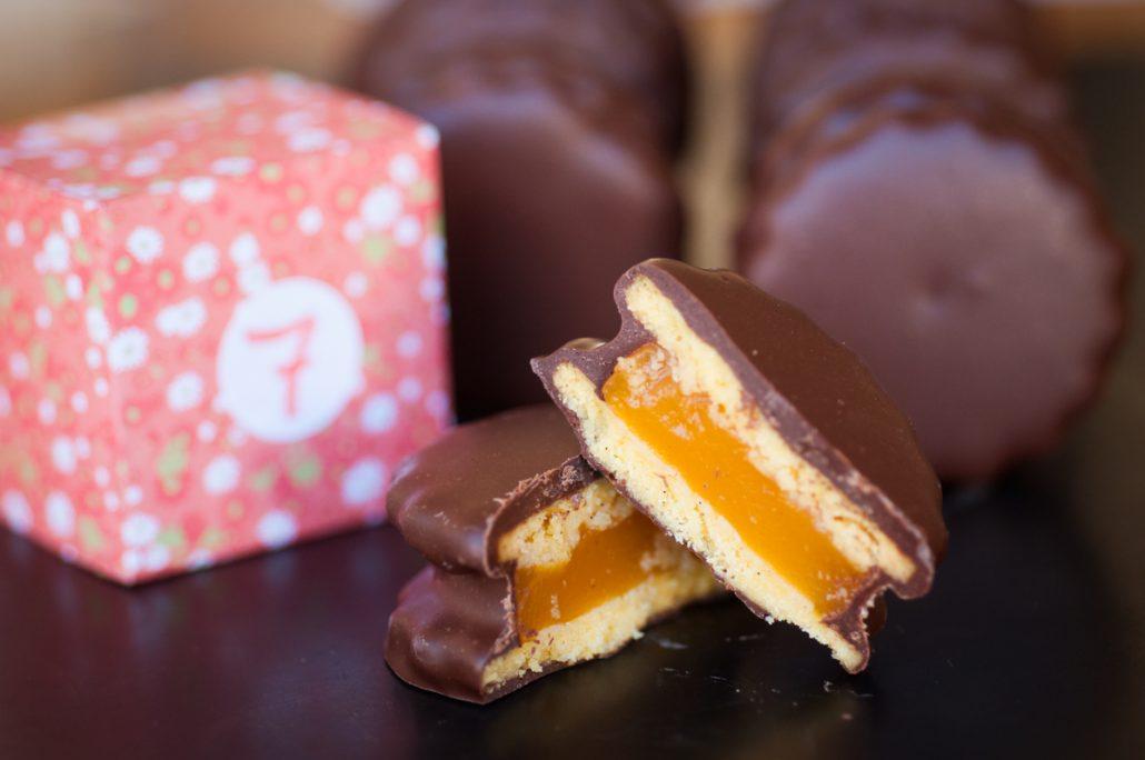 biscuit chocolat abricot