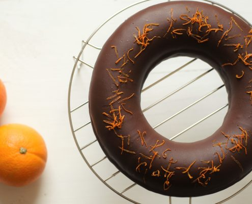 bundt cake chocolat et orange