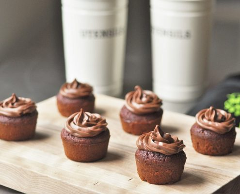 cupcake chocolat betterave