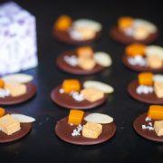 Mendiant chocolat foie-gras