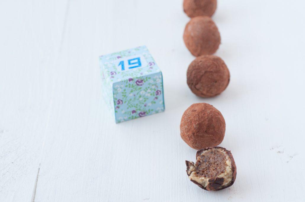 Truffe chocolat aux pruneaux
