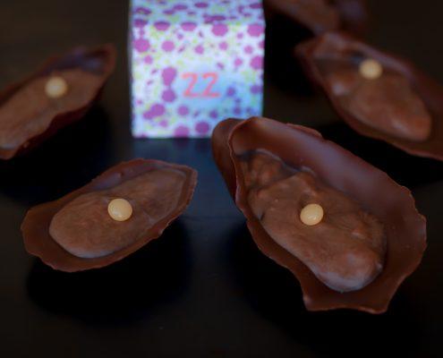 huître au chocolat