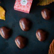 chocolats aux châtaignes et noisettes