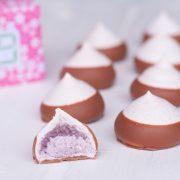 meringue cassis chocolat