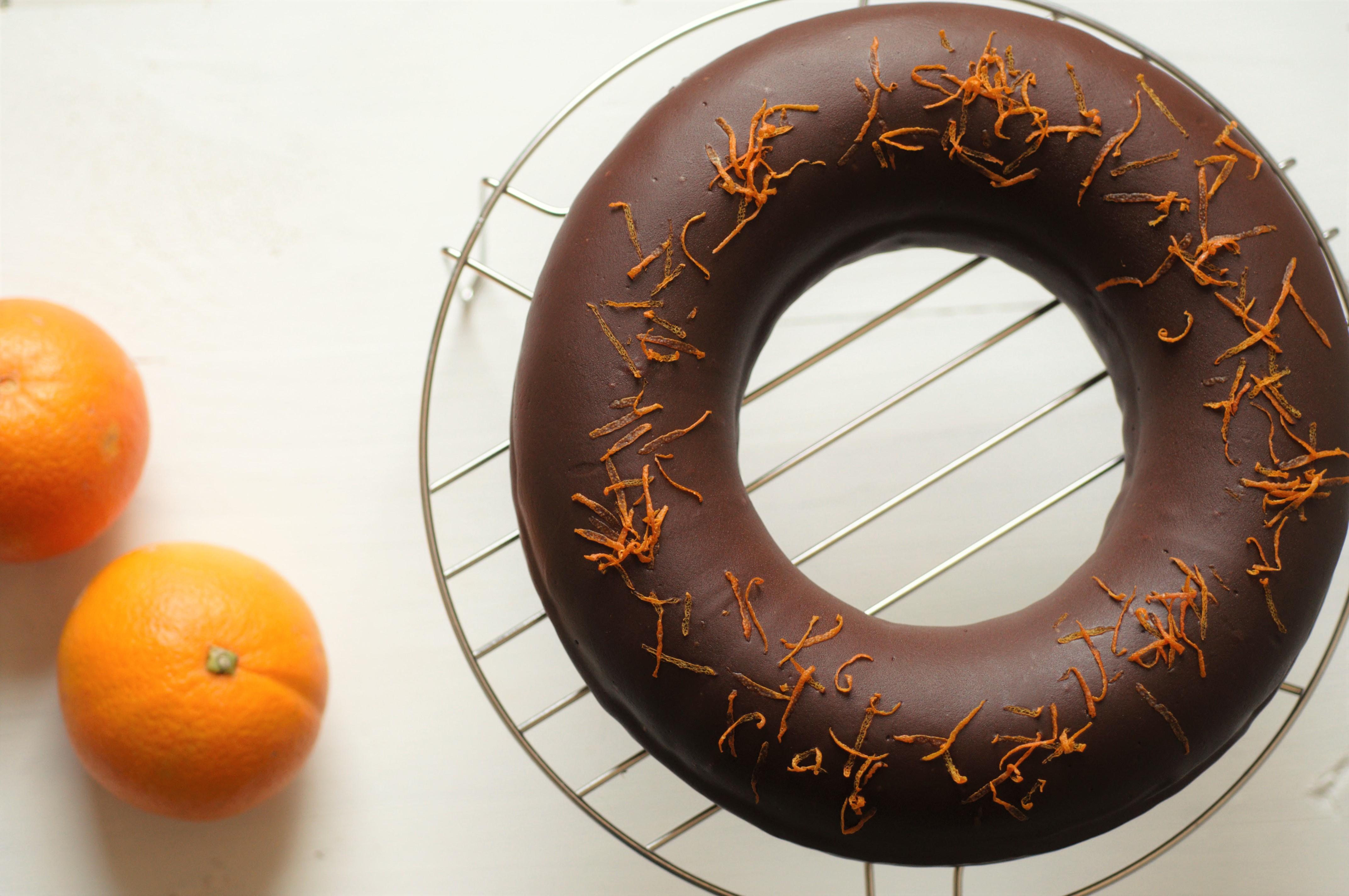 bundt cake chocolat et orange