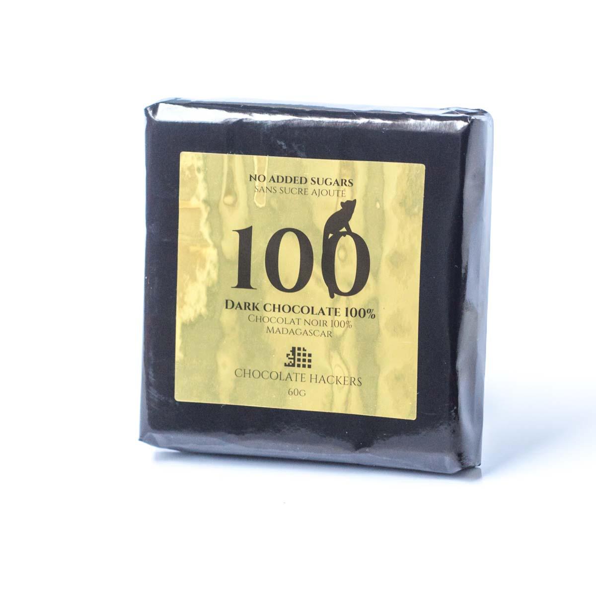Dark chocolate 100%